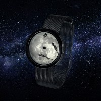 우주의시간 Zero-Gravity Watch (ver.Moonlight III + metal strap)