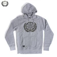 [THE BERRICS] COMMANDO ZIP HOOD (Heather Grey)