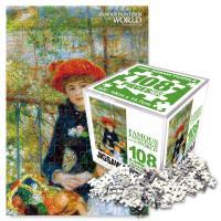 명화퍼즐 108P 두자매
