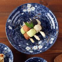 일본식기 하나미 볼접시 22cm