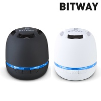 BITWAY 휴대용 블루투스4.0 스피커 B-10 (통화+음악 / MicroSD카드 재생 / 마이크 내장 / 핸드스트랩 / USB충전 / 원터치 페어링)