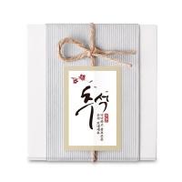 [인디고샵] 벚꽃 추석 감사합니다 라벨 (10개)