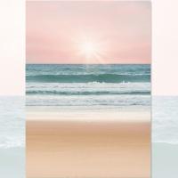 밀려오는 바다 사진포스터