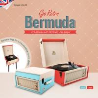 GPO LP 턴테이블 Bermuda USB 녹음가능 스피커내장