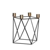 [hubsch]Candlestick black brass 디자인캔들홀더670102
