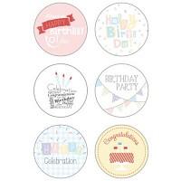 스티커 - 생일축하 (파티6종)