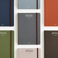 Bookcloth Diary (M) - Daily