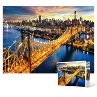 500피스 직소퍼즐 - 맨하탄과 퀸즈보로 브릿지