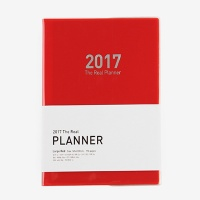 2017 The Real Planner (L) RED (다이어리/플래너/스케줄러)