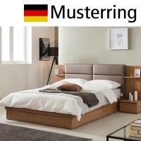 Musterring 무스터링 가죽쿠션헤드 침대 퀸(Q)포켓매트포함 M-DM503평상