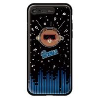 라인프렌즈 iPhone7 BROWN Beat LIGHT CASE
