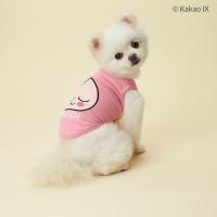 카카오프렌즈 댕댕이 나시 강아지옷