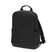 몰스킨 T 백팩 컬렉션-소프트 터치 PU, 블랙