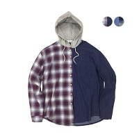 Halp & Halp Hoodie Shirt(2color)