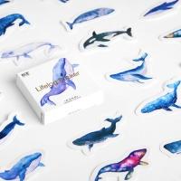 [인디고샵] 세상 모든 고래 스티커팩
