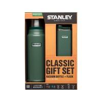 [STANLEY] 스탠리 클래식 1리터 보온병+236미리 플라스크 선물세트