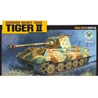 (아카데미과학-ACT13304) 1/48 독일군 중전차 타이거 Ⅱ [모터]  탱크 프라모델