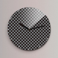 Reflex 무소음벽시계(소) ND151-BCK