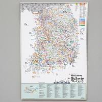 지구별 여행스케치  한국지도 - 철도