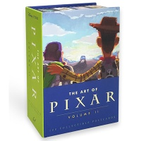 The Art of Pixar 2 : 100 Collectible Postcards