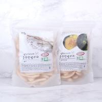 질마재농장 떡 쌀과자 백미80g+백미단호박80g