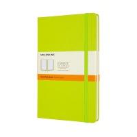 몰스킨 클래식노트-룰드/레몬 그린-하드 L