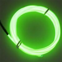 EL 와이어 2M + 인버터 (옐로우/라이트그린)