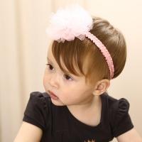 [인디고샵] 코사지 로맨틱 아기 헤어밴드