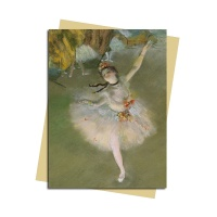 그리팅카드 Edgar Degas-The Star