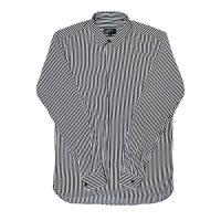 [게타] Black and White PE striped shirt Blackwhite