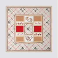 Silk Royal Square Petit Scarf