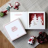 디비디 크리스마스 카드 - Snowman