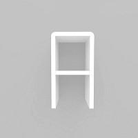 미니큐빅스 이니셜 벽선반-A