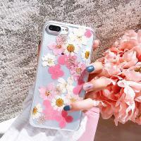 압화 클리어 꽃향기 케이스(아이폰XS MAX)