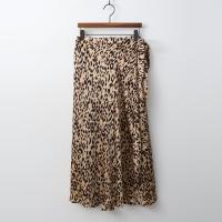 Leopard Wrap Long Skirt