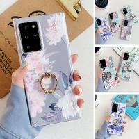 아이폰 12 미니 pro max 핑거링/글리터 플라워 케이스
