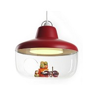 Favorite Things Lamp Raspberry