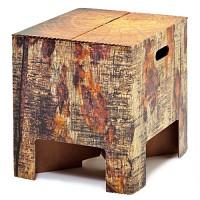 [원더스토어] 더치 디자인 북유럽 스툴 의자 테이블 Tree trunk