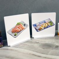 il018-스탠드액자2P_맛있는음식들3(회한접시)