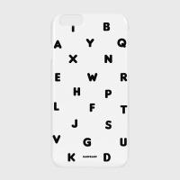 [어프어프] 하드/터프/슬라이드 Alphabet-white