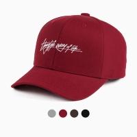 [디꾸보]컬시브 볼캡 롱스트링 모자 OH071