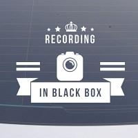 BLS001 블랙박스스티커