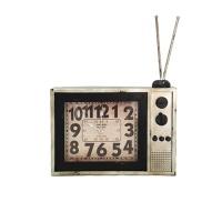 골동품TV모양탁상시계-w)IV40051