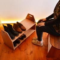 [리우목공방] 신발장 선반
