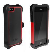 [충격완벽보호 볼리스틱 케이스] BALLISTIC SG MAXX iPHONE 5 (Black/Red) [완벽하게 스마트폰 보호 소재]