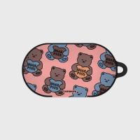 Bear pick-pink(buds hard case)