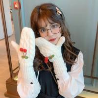 체리빌 여성 겨울 벙어리 털장갑
