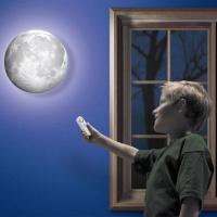 루나 달 문라이트 무드등 조명 벽등 취침등 수면등