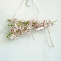 핑크 벚꽃 미니 갈란드