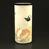 [아트샵코리아] LED아트램프 :: 김홍도 金弘道 - 황묘농접도